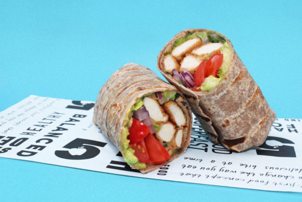 Fried-Chicken-Wrap-Low-Carb